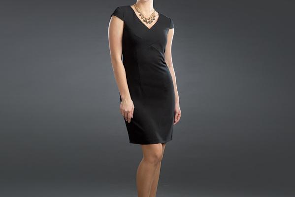 Торжественный черный — главный цвет новой коллекции PRIZ, делающий ее универсальной. Для новогоднего образа добавьте акценты — выверенные оттенки колумбийского изумруда, синего Бенуа, морской бирюзы, бургундского красного. Размеры 42-52. <price>2200 руб.</price>