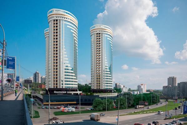 Комплекс «Флотилия» формирует облик нового центра Новосибирска. Дома-корабли по адресу ул. Сибревкома, 9 стр. возвысятся над Ипподромской и Октябрьской магистралью.