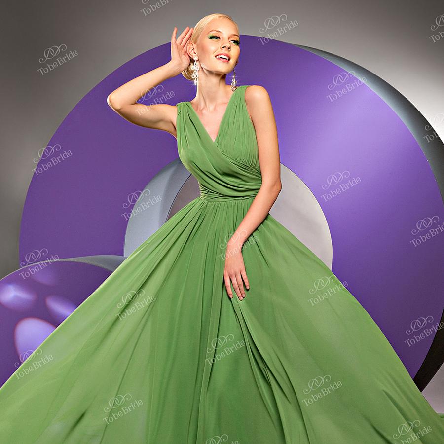 Шифоновое платье с драпировкой