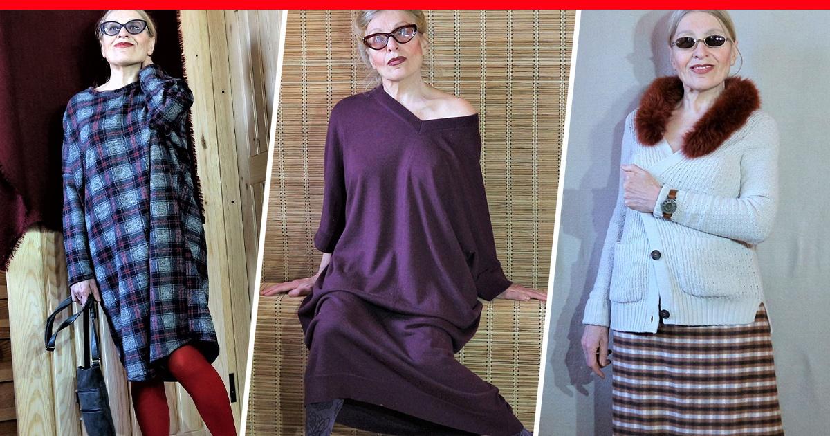 88bc854eaa4 15 самых стильных образов 66-летней писательницы из Тюмени Светланы  Ермаковой — апрель 2019 г