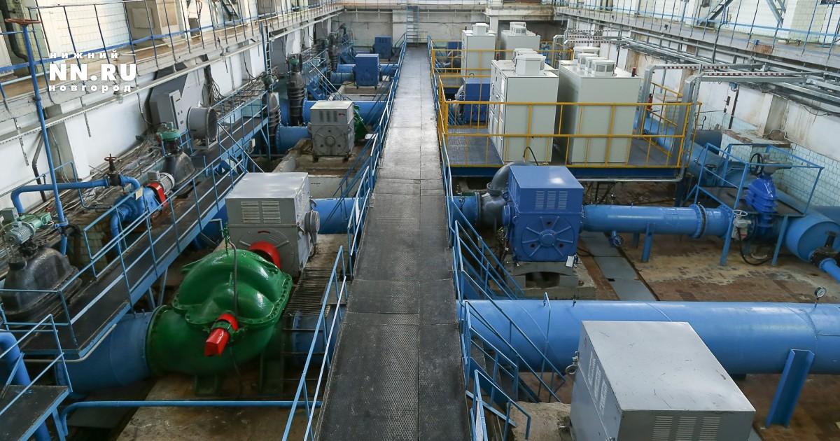 нижегородский водозабор фото новые