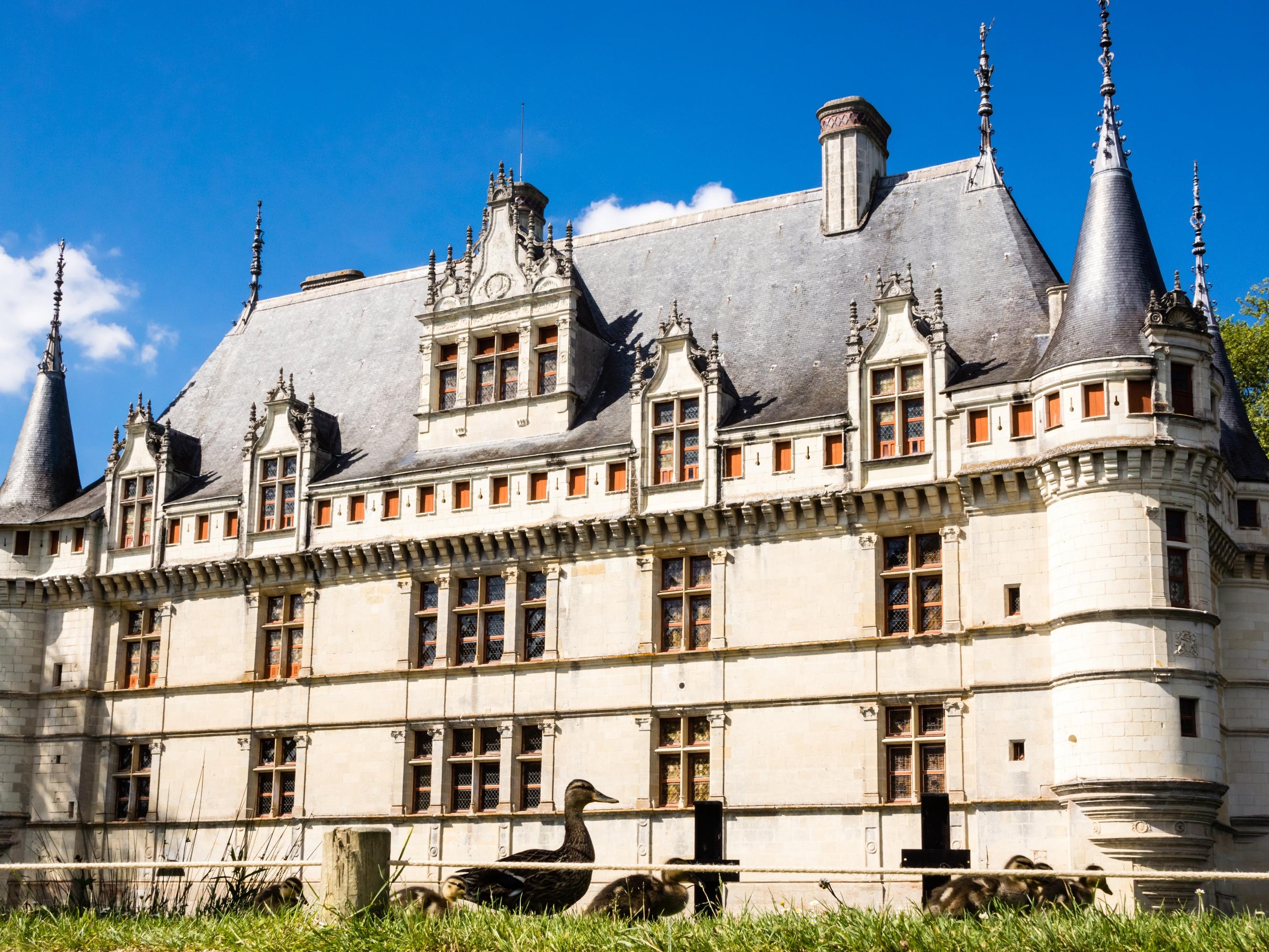 путь замки и дворцы франции картинки нее своя линия