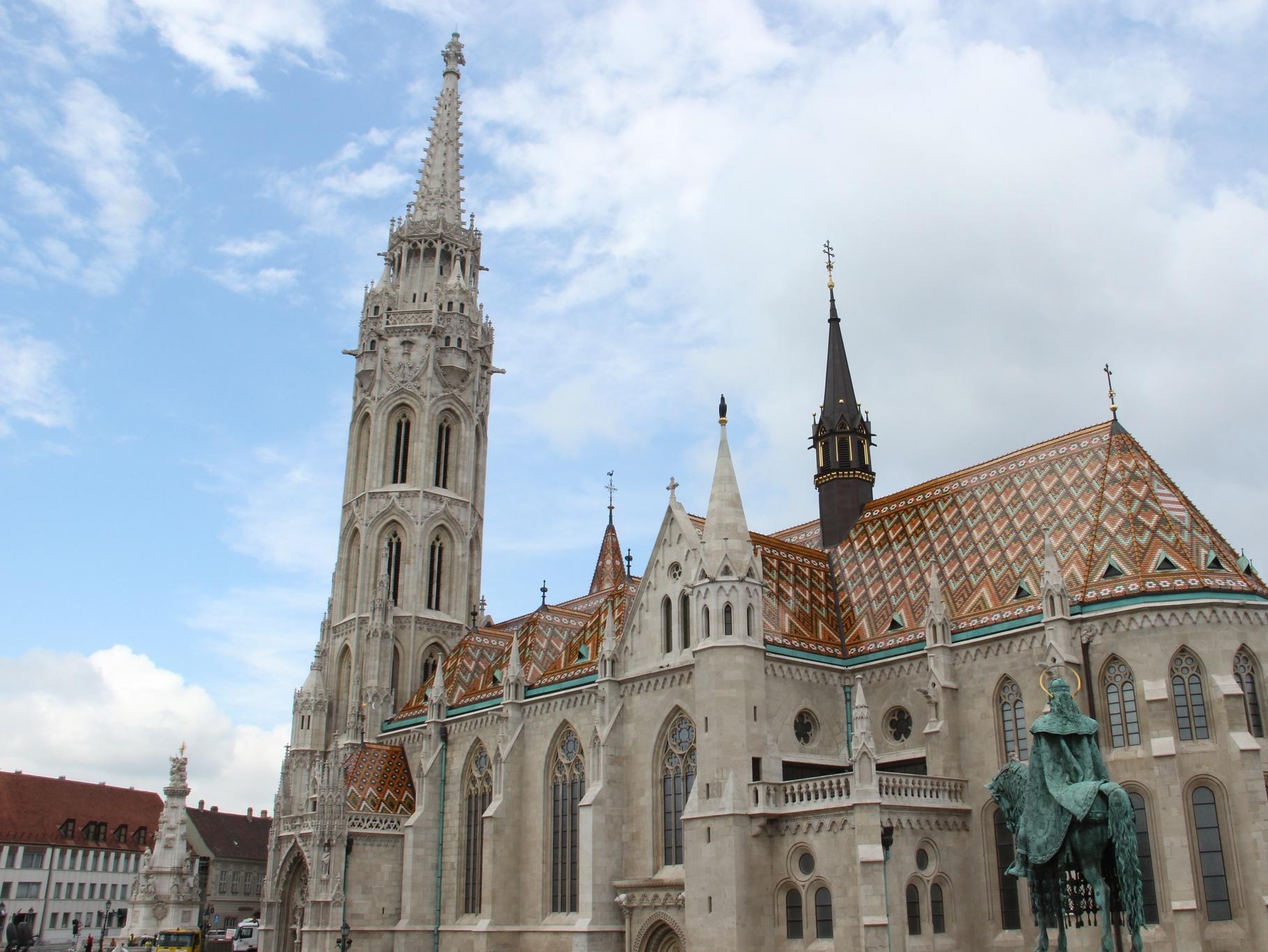 Обои будапешт, церковь святого матьяша. Города foto 7